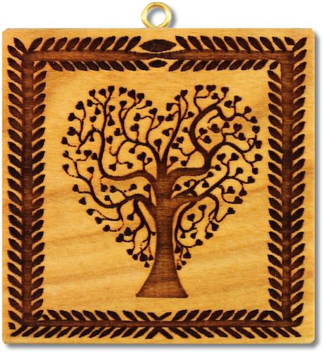 Lebensbaum in Herzform