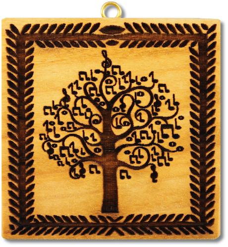 Lebensbaum mit Musiknoten